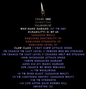 Chaos Suwayyah +3ls 290-340%