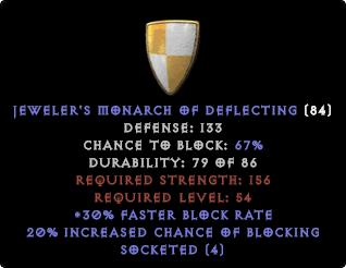 JEWELER'S MONARCH OF DEFLECTING (JMOD) - 133-147 DEF